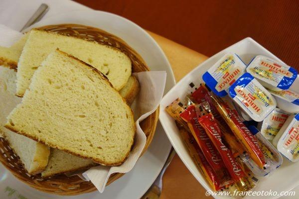ルーマニア パンがおいしい