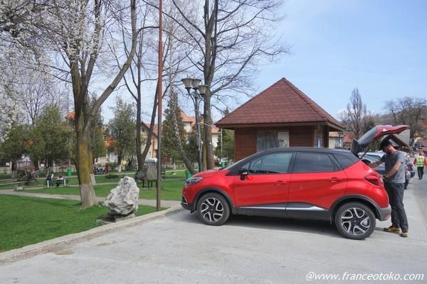 ルーマニアでレンタカー