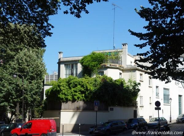 モンマルトル 素敵な家