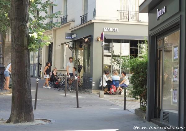 marcel パリ レストラン
