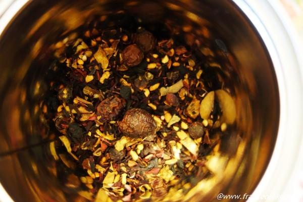 ブルーベリーのお茶