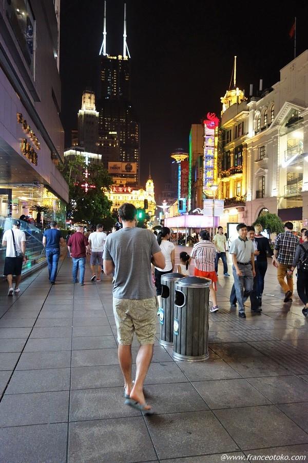 上海 南京路 食べ歩き