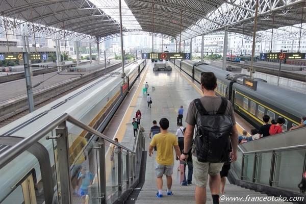 上海駅 観光