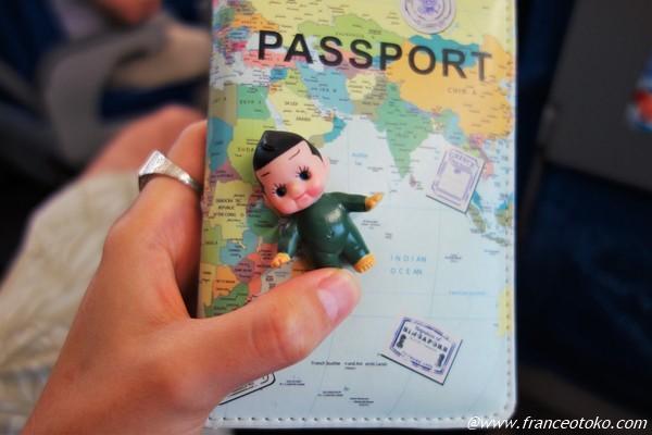 中国 パスポート持参