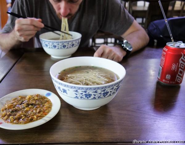 蘇州麺 上海グルメ