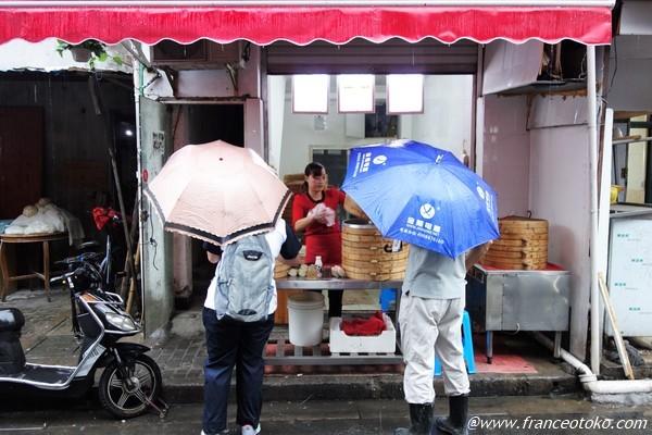 上海 屋台 朝ご飯 小吃