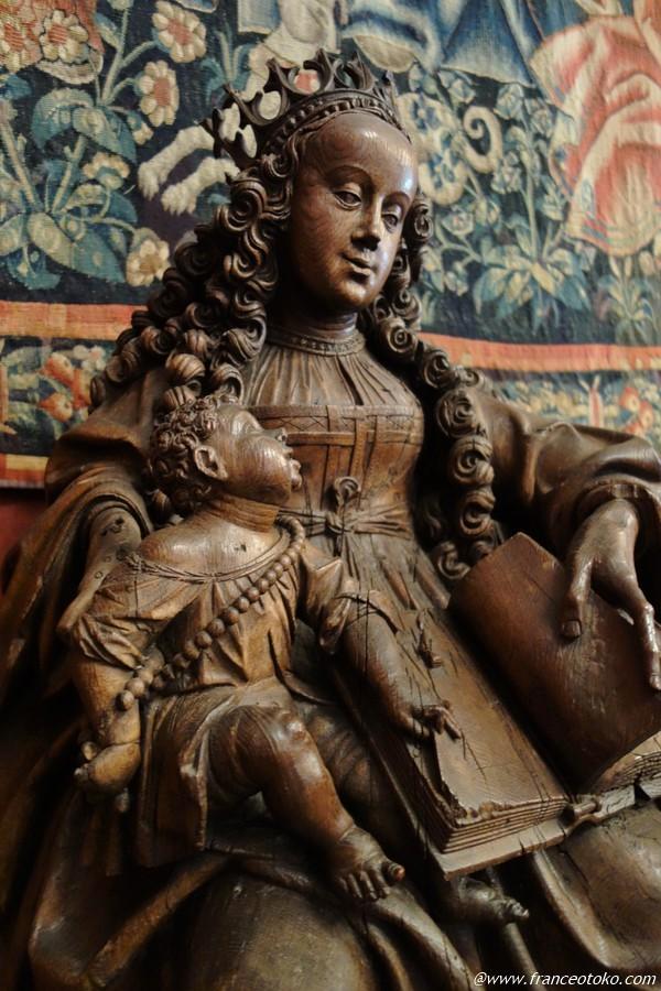 聖母子 中世 フランス