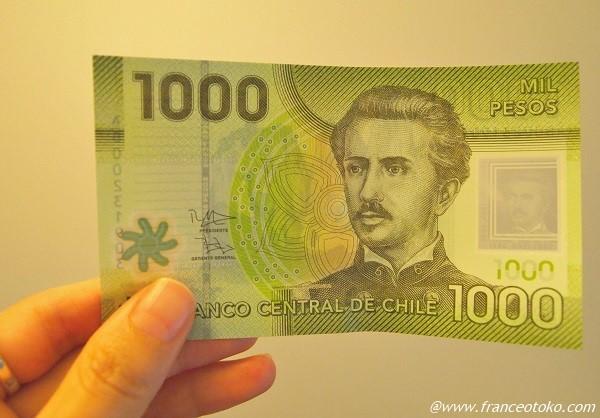 チリ 通貨 お金