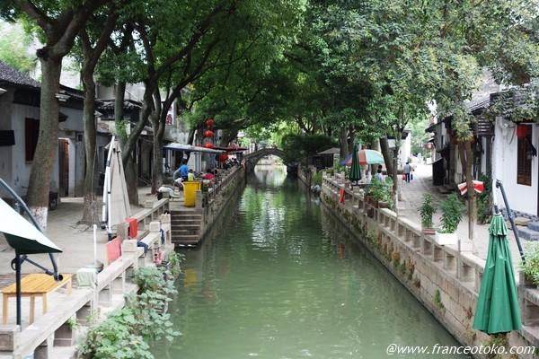 蘇州の水郷観光