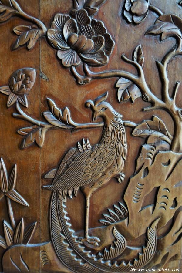 中国 木彫り アンティーク