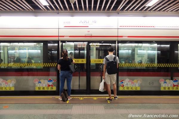 上海 人民広場