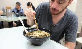 滄浪亭で上海麺☆ファッショニスタダンナと中国語グルメ紀行