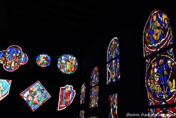 クリュニー中世美術館 ステンドグラス