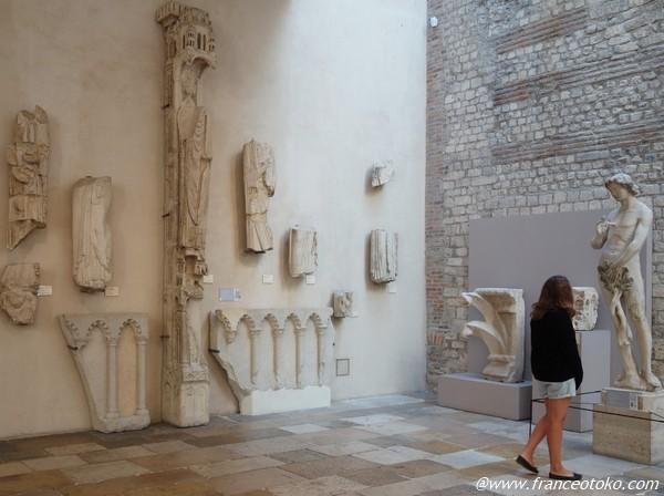 クリュニー中世美術館 古代浴場