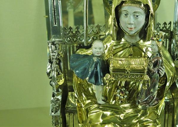 変顔 聖母子
