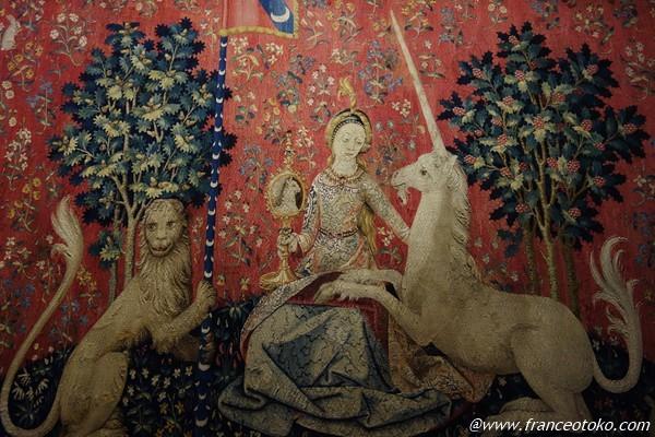 La Dame à la licorne 貴婦人と一角獣