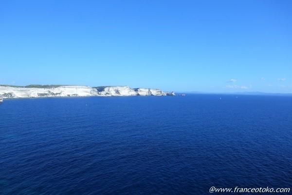 地中海 青すぎる海
