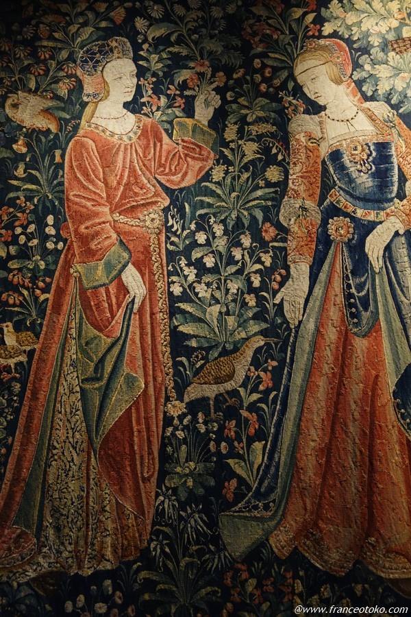 クリュニー中世美術館 タピスリー