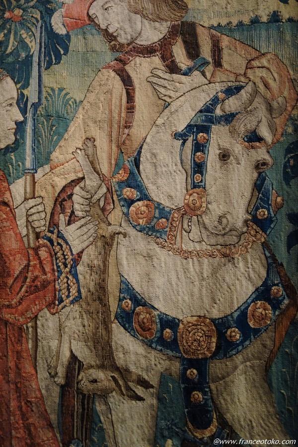 フランス 白馬と王子