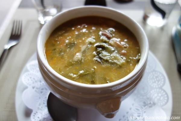 コルシカ料理 スープ