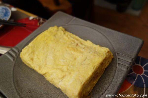 日本伝統の玉子焼き