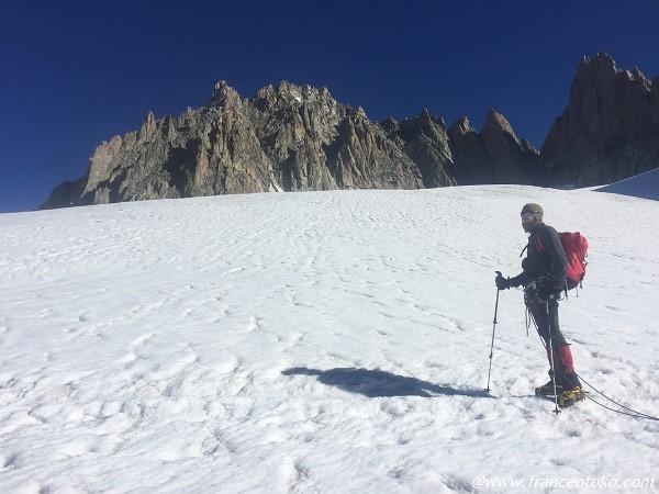フランス テクニカル 登山 シャモニー