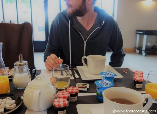 フランス 朝食 ボンママン