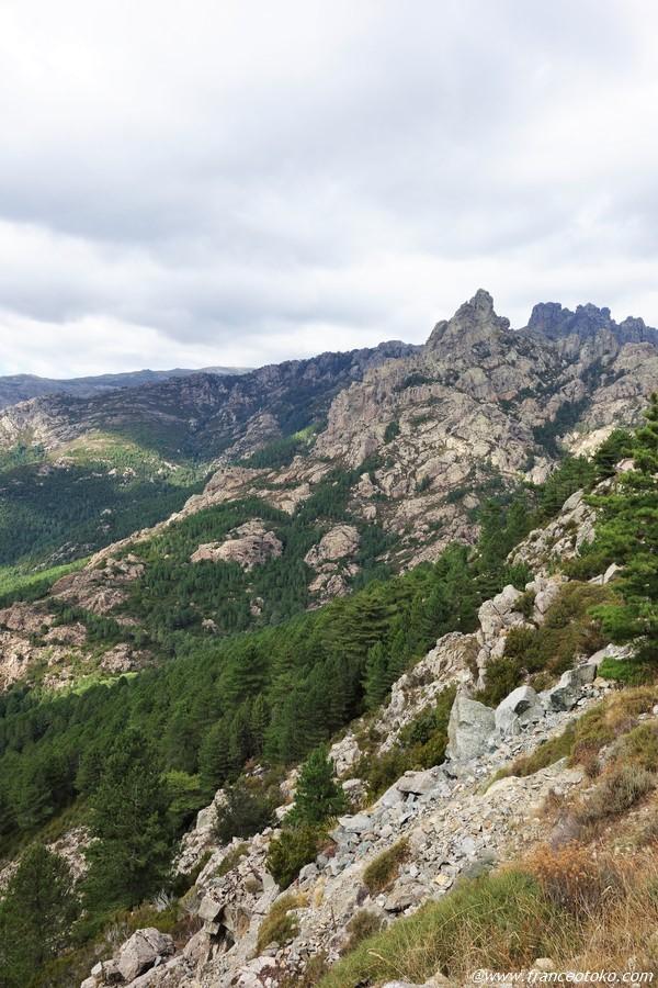 コルシカの山