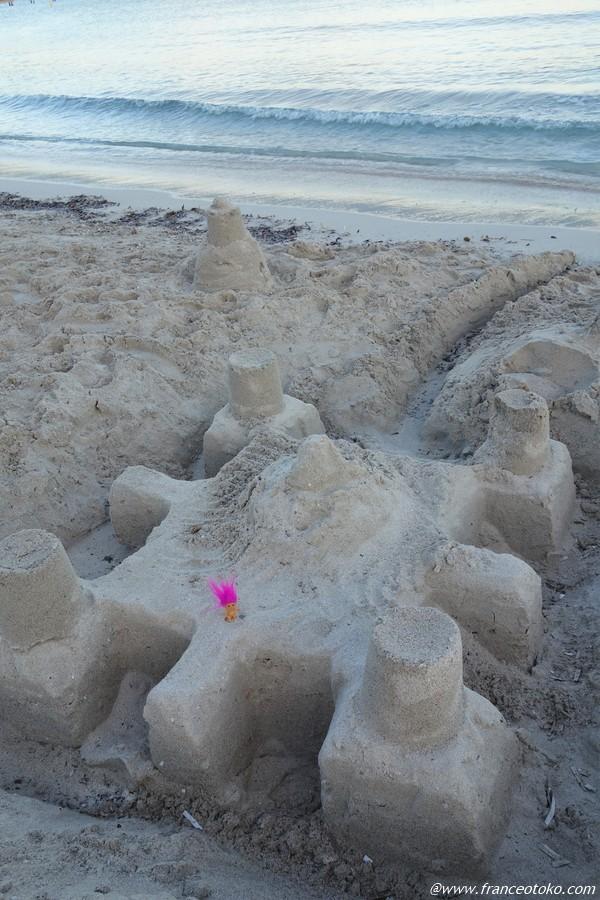 砂の城 フランス