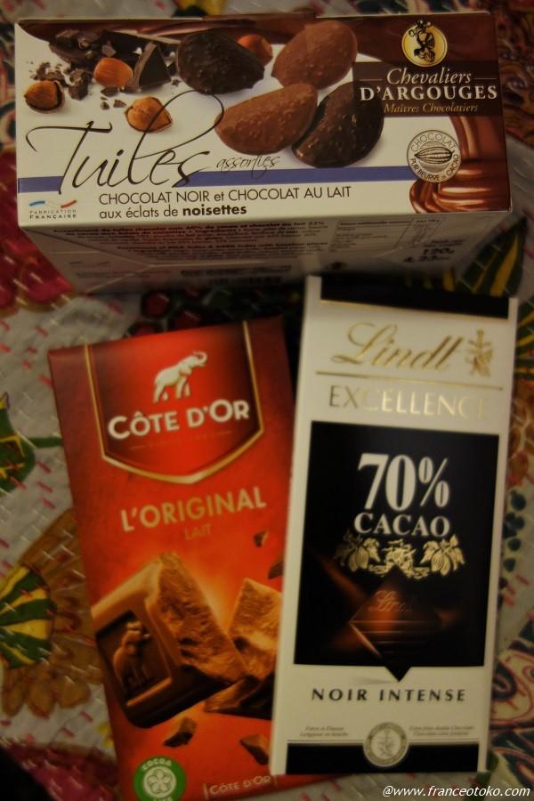 フランスのチョコレート リンツ コットドール