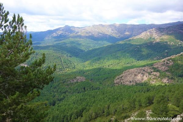 コルシカ 山ばかり