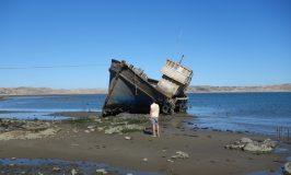 リューデリッツで海賊気分とジャッカルに沸く乾燥肌ナミビア