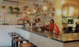 オシャレカフェなバーガーClarke's bar & dining room ケープタウン