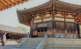夢殿と古民家カフェ ZADAN で法隆寺瞑想ドリーミー